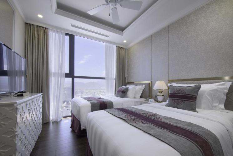 Bán căn hộ view biển Vinpearl Lê Thánh Tôn, TP. Nha Trang thu nhập trọn đời 245 triệu/năm, có SĐCC