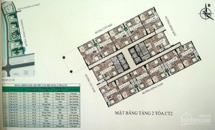 Chính chủ cần bán CH 43 Phạm Văn Đồng, DT 70m2, 2PN + 2WC, giá 1 tỷ 500 tr, LH 0981.994.713