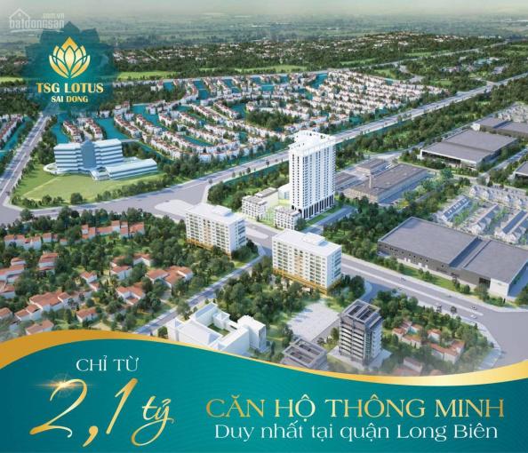 Sở hữu căn hộ thông minh đầu tiên tại phố Sài Đồng, liền kề Vinhomes Riverside, giá chỉ từ 24tr/m2