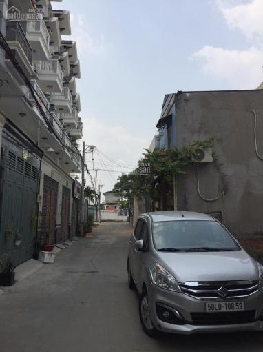 Bán nhà mới 4 tầng, 5 x 11m, hẻm 183 Hoàng Hoa Thám, P. 6, Bình Thạnh, 0902852138