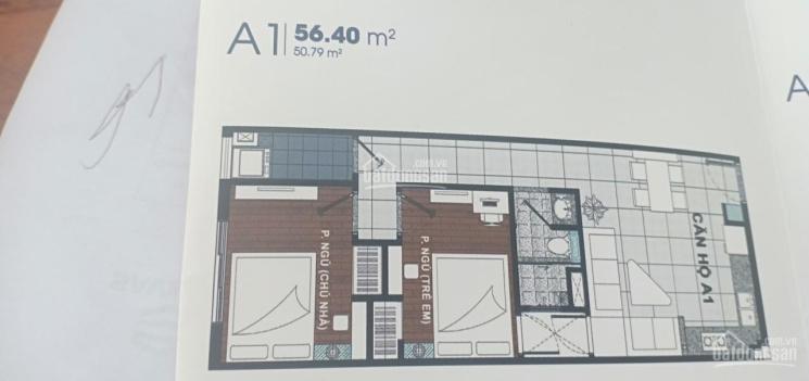 Chính chủ cần bán căn hộ Roxana Plaza 2PN, ngay tại tầng 10 với giá 1,250 tỷ
