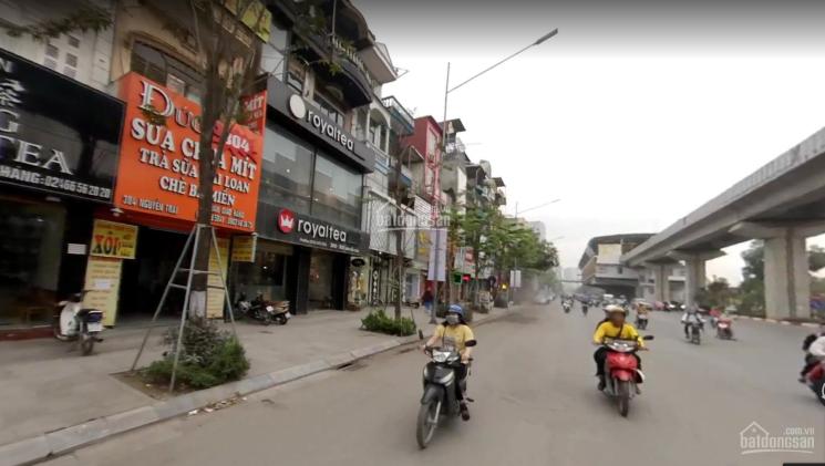 Cho thuê nhà MP Nguyễn Trãi 90m2 x 4 tầng, mặt tiền 9m nhà siêu đẹp lợi thế kinh doanh. 0941298397