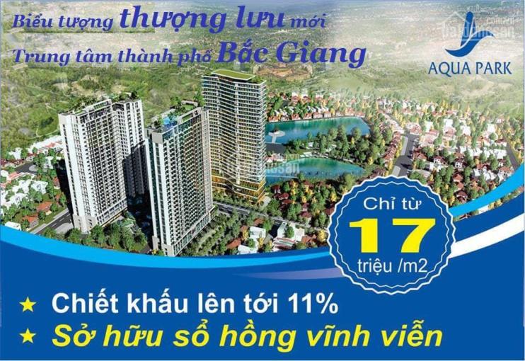 3 suất ngoại giao cuối cùng giá rẻ chung cư Aqua Park Bắc Giang - LH: 0911.294.688