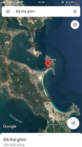 Bán đất thuộc biển đẹp nhất Phú Yên - Bãi biển Vịnh Hòa, biển Từ Nham, thị xã Sông Cầu, Phú Yên
