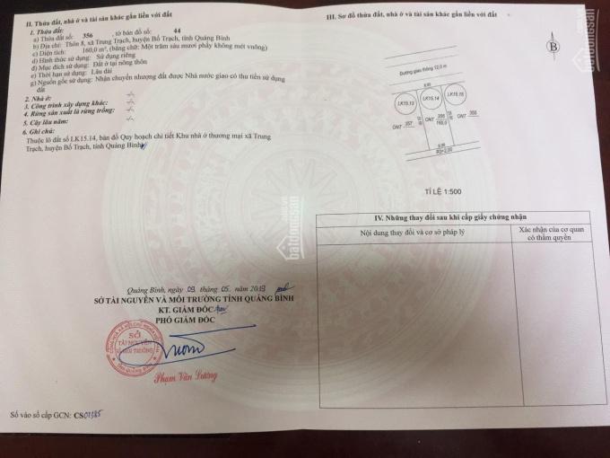Bán đất chính chủ 2 lô liền kề trung tâm thị xã Hoàn Lão, liên hệ: 0971 836 888