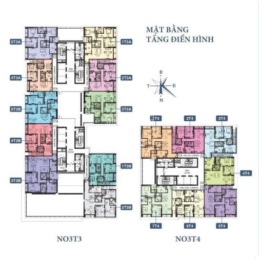 Bán cắt lỗ 300tr CH Horizon Tower, căn T3 - 1002(110m2) & T4 - 1501(130m2), giá 28tr/m2. 0989608597