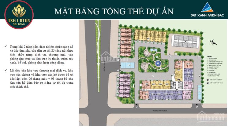 TSG Sài Đồng mở bán đợt 1 giá chỉ từ 2,1 tỷ/3PN, tặng gói NT 35tr, CK 3%, LS 0%. LH 0813.666.111