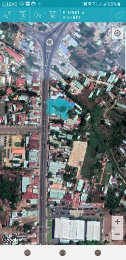 360°Cho thuê nhà mặt bằng dài hạn DT 28m x 60m mặt tiền đường Phú Riềng Đỏ. Gần vòng xoay Hùng Vương