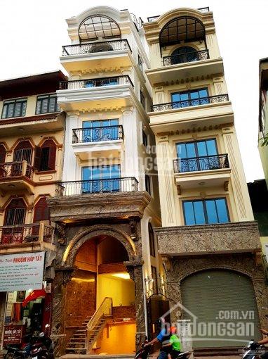 Cho thuê nhà mặt phố Nguyễn Công Trứ, 80m2 x 5 tầng, 1 hầm, MT 6.3m, thông sàn, có thang máy