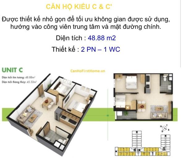 Căn hộ chung cư First Home, cầu Tôn Đức Thắng, Long Xuyên, An Giang