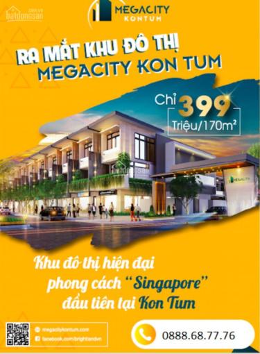 Đặt chỗ giai đoạn 2 dự án Megacity Kon Tum khu đô thị giàu tiềm năng, gia tăng giá trị