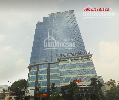 Cho thuê văn phòng tòa 319 Bộ Quốc Phòng, Lê Văn Lương, Thanh Xuân, Hà Nội, DT: 150m, 300m, 1000m2