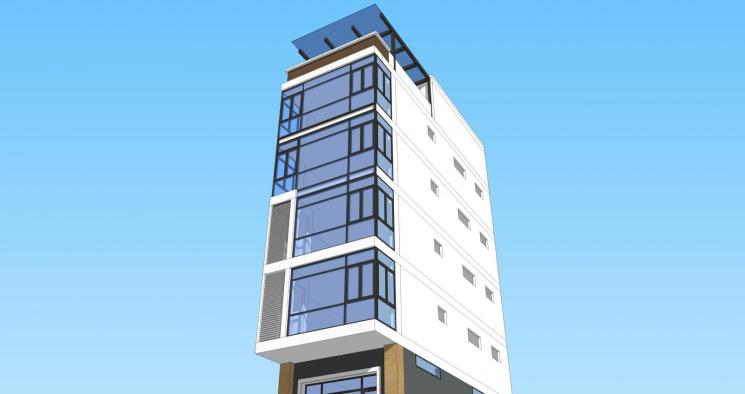Chính chủ bán nhà 7 tầng, số 1, ngã tư Cổ Nhuế, Trần Cung, Phạm Văn Đồng, tiện cho thuê văn phòng