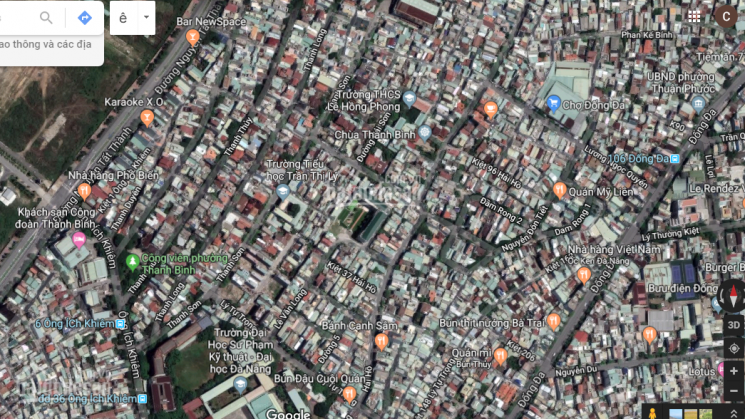 Bán đất tặng nhà tại đường Hải Hồ, Hải Châu, Đà Nẵng