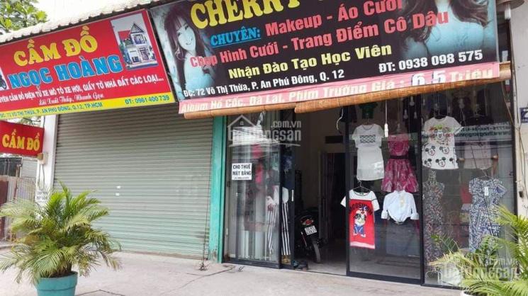 Nhà mặt tiền đường Võ thị Thừa, đang kinh doanh
