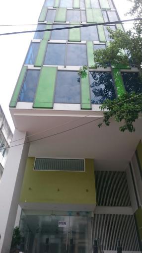Cho thuê tòa nhà mặt tiền Lý Thái Tổ, P1, Q 3 DT 8x16m, 1 hầm, lửng, 3 lầu. LH: 0896402146