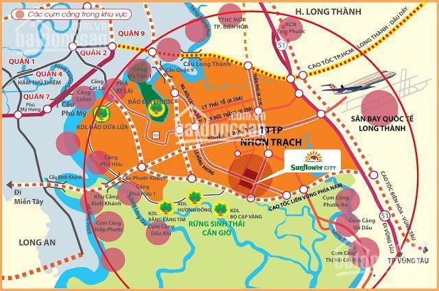 Nhận ký gởi dự án Sunflower City, xã Phước An, Nhơn Trạch ảnh 0