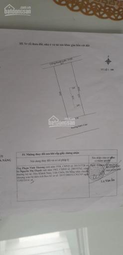Chính chủ cần bán nhà mặt tiền đường Nam Cao, đoạn giữa Phạm Như Xương và Đặng Dung, nở hậu