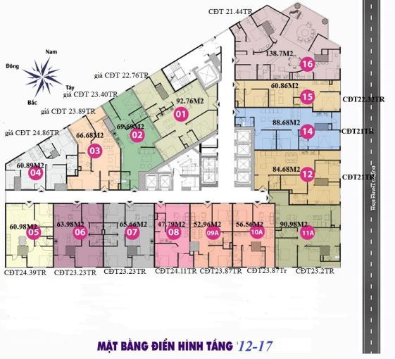 Chính chủ bán cắt lỗ căn hộ tòa tháp Doanh Nhân, Hà Đông