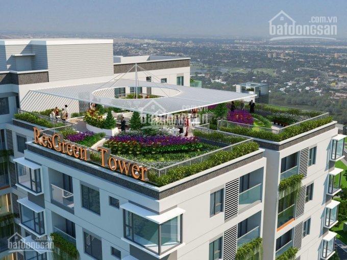 Res Green Tower căn hộ 2 - 3PN hạng 5* giá bao sổ 3.2 - 4.2 tỷ, xin gọi 0909138006 - 0983561002 ảnh 0