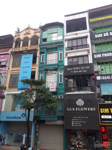 Cho thuê nhà phố Nguyễn Phúc Lai (cạnh hồ Hoàng Cầu), DT 55m2 x 5 tầng, mặt tiền 4m, giá 30tr/th