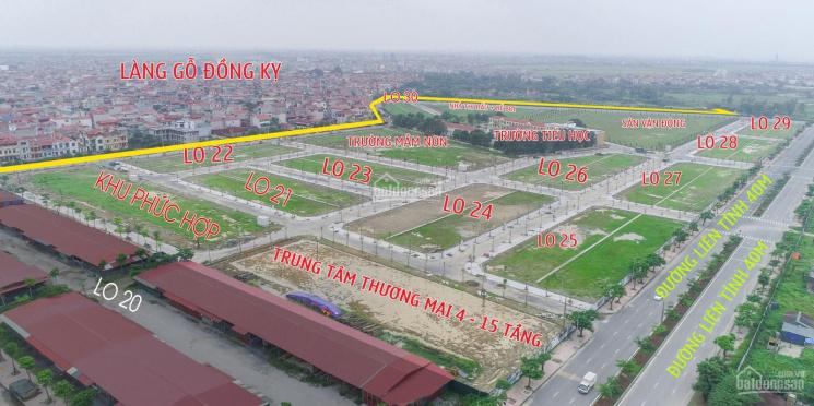 Bán đất nền Đồng Kỵ - Bắc Ninh, sổ đỏ trao tay - ngân hàng hỗ trợ lãi suất 0%/18 tháng - 0988266206