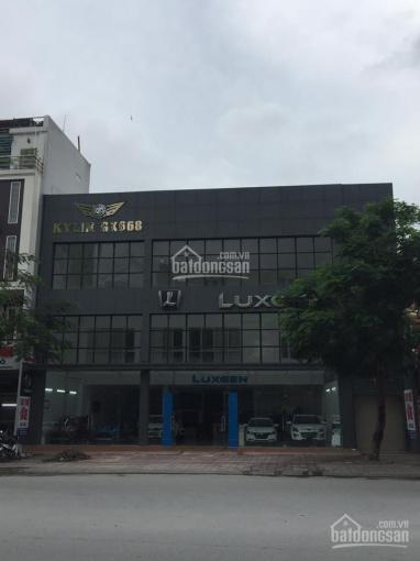 Bán tòa showroom, 6 tầng thang máy, đắc địa, mặt phố Cát Linh, 233m2, mặt tiền 15m, 55 tỷ