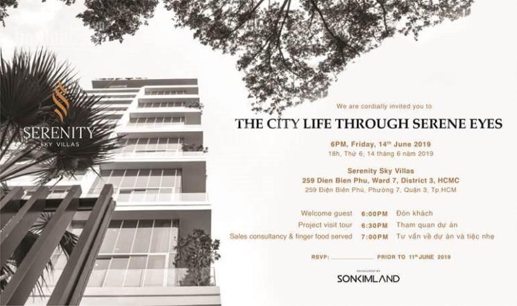 Bán căn hộ Serenity Sky Villa phường 7 Quận 3 - 0934130268