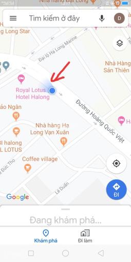 Cho thuê 1.500 m2 đất mặt đường Hoàng Quốc Việt, Bãi Cháy, MT 30m. LH: 0988911588