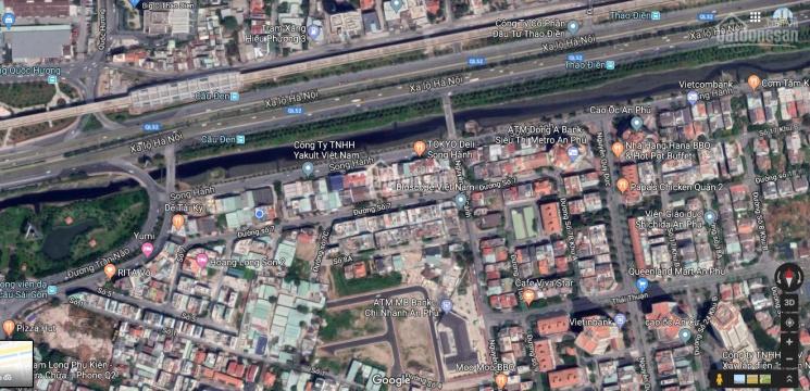 Chính chủ bán đất nền khu An Phú An Khánh Quận 2, ngay đường Song Hành, 200m2, giá chỉ 130 tr/m2