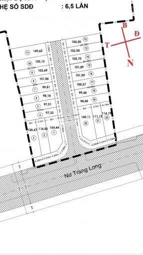 Bán gấp 20 lô đất MT Nơ Trang Long, gần UBND phường 13, chỉ cần TT 799tr SHR, LH 0938513545