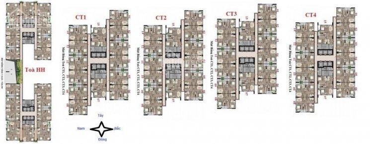 Bán gấp CH CBCS 43 Phạm Văn Đồng, CT2 - 1203 (69.8m2) và CT3 - 1608 (69.8m2), 20tr/m2. 0971.085.383