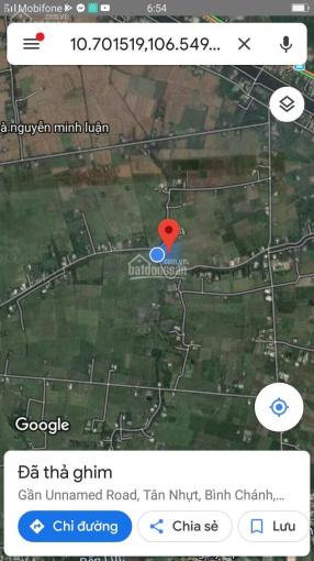 Bán Miếng đất 12.000m2 mặt tiền đường Tân Nhựt, giá 1tr/m2