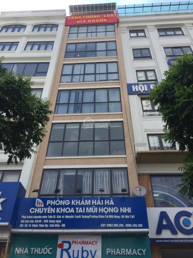 Cho thuê văn phòng số 14 Trần Đăng Ninh kéo dài DT - 100m2, giá 19 triệu/tháng. LH: 0812.288.288