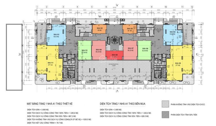 Bán sàn thương mại Ciputra giá 36 triệu/m2, diện tích 40 - 500m2