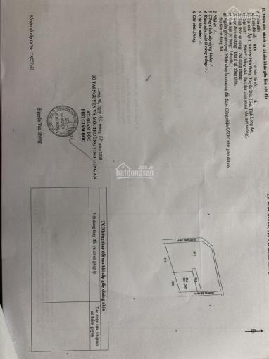 Cần bán đất 2 mặt tiền xã Đức Hòa Đông, gần UBND Đức Hòa Đông, diện tích 2388m2
