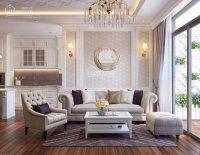 Cho thuê căn hộ 3 phòng ngủ, diện tích 120m2 dự án Vinhomes Central Park, giá 22,5tr/tháng