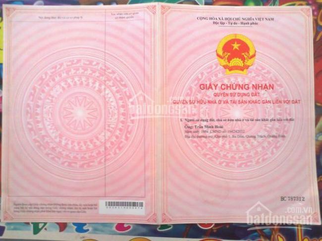 Cần tiền bán gấp lô đất mặt đường Nguyễn Bỉnh Khiêm, Đông Hải 1, Hải An, Hải Phòng