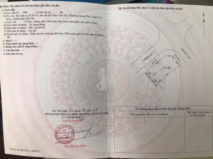Bán cặp nền góc đường B5 & B23 khu Hưng Phú 1, sổ hồng thổ cư 100%, vị trí đẹp giá bán 8.5 tỷ