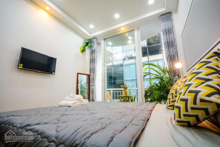 HXH 6m thông nhà đẹp 4 tầng 70m2 MT 4.4m nội thất đầy đủ 12.3 tỷ Trần Quang Diệu, Q3 LH 0909513345