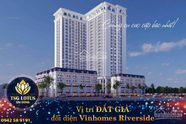 Căn hộ cao cấp liền kề Vinhomes Riverside, giá chỉ 28 triệu/m2, HTLS 0%, CK 3% giá bán