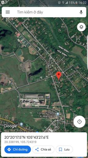 Bán đất xóm Bờ Sông, xã Ngọc Lương, huyện Yên Thủy, tỉnh Hòa Bình