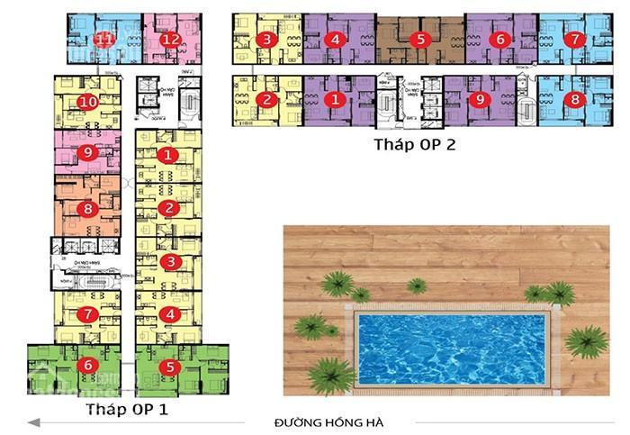 Bán Orchard Park View, block OP2 3PN, 109m2, nhà thô, đã có HĐMB, view nhìn rộng công viên Gia Định