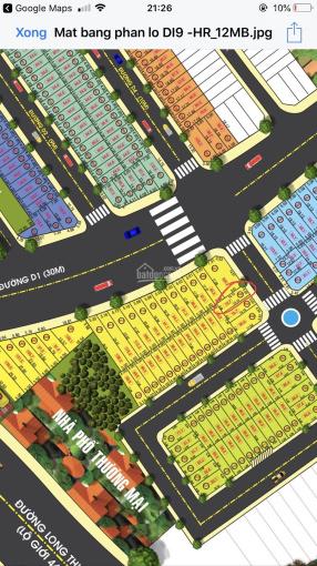 Chính chủ bán đất dự án Đảo Kim Cương, MT Long Thuận, P. Trường Thạnh Q9, giá 21tr/m2, 0796964852