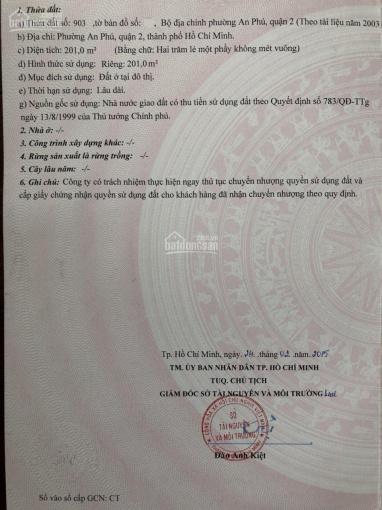Cần bán đất nền biệt thự 31A khu C, An Phú, An Khánh, quận 2