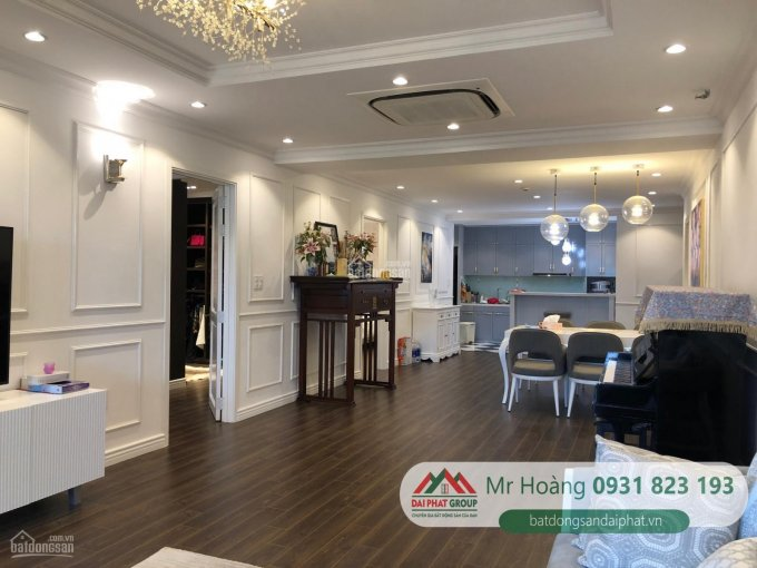 Bán căn hộ 150m2 Nam Phúc Le Jardin, Phú Mỹ Hưng, căn góc view công viên nhà đẹp