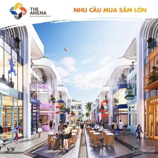 Chính chủ bán gấp căn shophouse Arena Cam Ranh, 257.91m2, 4 PN, 3 tầng, phù hợp KD, 0936044476