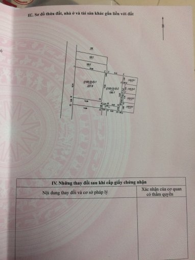 Bán mảnh đất tại Vũ Đức Thận, phường Việt Hưng, Long Biên, hướng Tây Nam, DT 54-59m2, giá từ 2.2 tỷ
