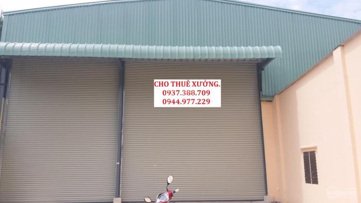 Cho thuê nhà xưởng nằm phường Hiệp Thành, Quận 12, DT 600m2 giá 25 triệu/tháng. LH 0908 561 228 ảnh 0