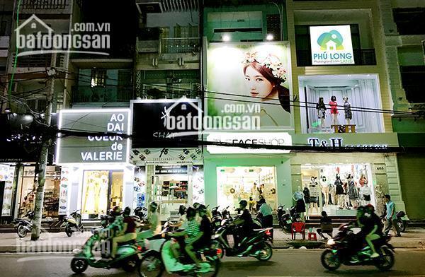 Bán nhà 2 mặt tiền đường Võ Thị Sáu - Nam Kỳ Khởi Nghĩa, P7, Quận 3, DT: 6.5 x 21m nhà 4 lầu mới